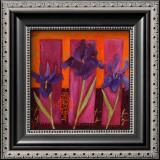 Three Irises Posters by Loetitia Pillault