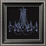 Chandelier IV Art by Pamela Desgrosellier