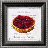 Tarte aux Cerises Print by Ginny Joyner