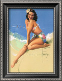 Sunny Skies Prints by Rolf Armstrong