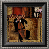 Jazz Cello Prints
