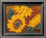 Sunflowers II Poster by Vivien Rhyan
