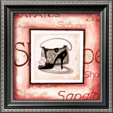 Fashion Shoes III Poster by Alfred Gockel