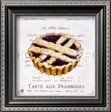 Tarte aux Framboises Prints by Ginny Joyner