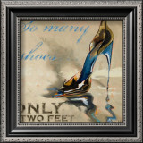 So Many Shoes Prints by Lorraine Vail