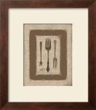 Forks Print by Jo Moulton