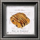 Pain au Chocolat Art by Ginny Joyner