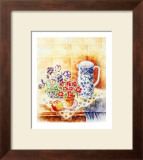Pansies Print by Denise