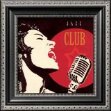 Jazz Club Poster by Marco Fabiano