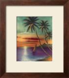 Diamond Head Sunset Prints by  Mokihana