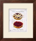 Tartes aux Cerises et Framboises Poster by Ginny Joyner