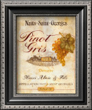 Pinot Gris Poster by Pamela Gladding