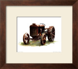 Early Model Fordson Tractor Print by Sharon Pedersen