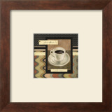 Drinking Short Black Coffee Prints by Carol Robinson