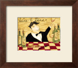 Wine and Dine Posters by Dan Dipaolo