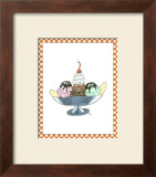 Ice Cream Parlor IV Art by Virginia A. Roper