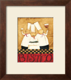 Three Chefs Wine Bistro I Art by Dan Dipaolo
