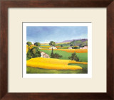 Summer in Provence IV Print by L. Vallet