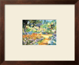 Monet's Garden in June Prints by Jean Lamoureux
