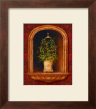 Olive Topiary Niches I Posters by Pamela Gladding