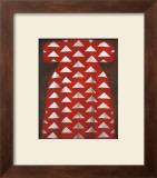Red Kaftan Art by Richard Nott