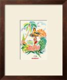 Tropical Abundance Posters by Frank MacIntosh