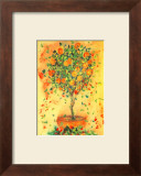 Orange Tree Posters by Dina Cuthbertson