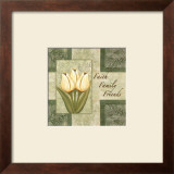 Tulips, Faith Family Friends Poster by Maria Girardi