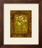 Garden Lilies II Print by Allyn Engman