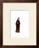 Chinese Mandarin Figure Poster