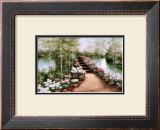 Bridge of Flowers Art by Diane Romanello