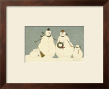 Snow Family Posters by Warren Kimble