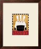 Three Chefs Soup Bistro I Prints by Dan Dipaolo