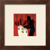 Jazz Ensemble Art by Marco Fabiano