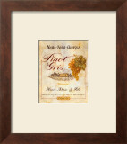 Pinot Gris Posters by Pamela Gladding