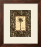 Vintage Palm III Print by Charlene Audrey