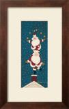 Juggling Santas Art by Warren Kimble