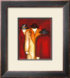 Three Wise Man II Poster by Gisela Ueberall