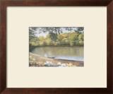 Golden Pond Poster by Diane Romanello