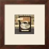 Drinking Mocha Coffe Poster by Carol Robinson