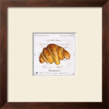 Croissant Posters by Ginny Joyner