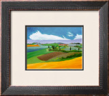 Summer in Provence I Art by L. Vallet