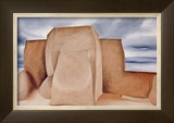 Ranchos Church, New Mexico Prints by Georgia O'Keeffe