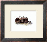 Early Model Case Tractor Posters by Sharon Pedersen