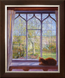 Spring Window Print by Timothy Easton
