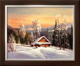 Siberian Winter Posters by Helmut Glassl