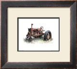 Early Model Farmall Tractor Art by Sharon Pedersen