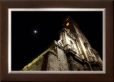 Moonlit Church Framed Giclee Print by Charles Glover