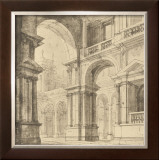 Portico Antico I Print by Maurizio Bartolomeo