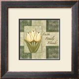 Tulips, Faith Family Friends Prints by Maria Girardi